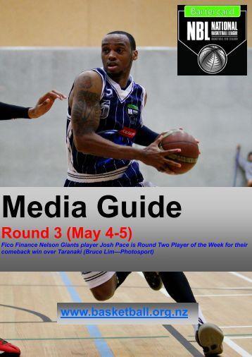 Round 3 (May 4-5) - Basketball New Zealand