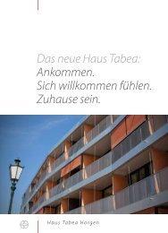 Tabea Broschüre - Haus Tabea