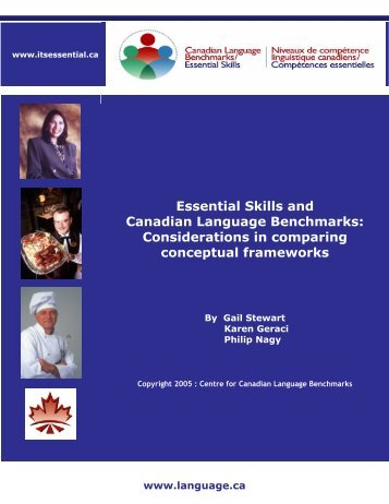 A Comparative Analysis of Essential Skills and - Canadian ...