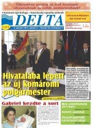 Hivatalába lépett az új komáromi polgármester Hivatalába ... - Delta