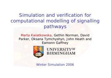 FGFR - Quantitative Analysis and Verification
