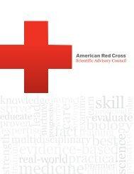 American Red Cross Scientific Advisory Council - Instructor's Corner