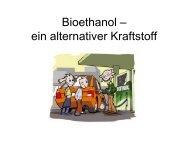Bioethanol – ein alternativer Kraftstoff - PS-Chemieunterricht.de
