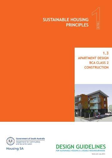 1.3 Apartment Design - BCA Class 2 ... - DCSI - SA.Gov.au