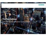 Keskijännitekojeistot, ilmaeristeinen vs. SF6-teknologia - Siemens