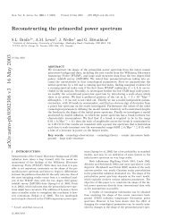 arXiv:astro-ph/0302306 v3 16 May 2003 - iucaa