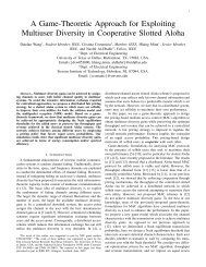 A Game-Theoretic Approach for Exploiting Multiuser Diversity in ...