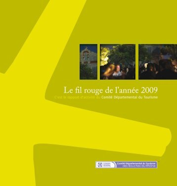 Fil rouge 2009.pdf - Accueil - Bouches du Rhône