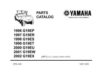 parts catalog - Yamaha Golf Cars USA