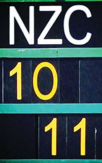 New Zealand Cricket Annual Report 2010 - 2011