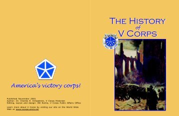 history pamphlet final print order - USAREUR Main Page