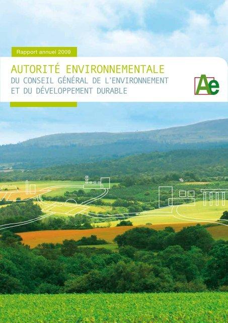 Le premier rapport annuel de l'Autorité environnementale - cgedd