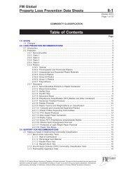 DS 8-1 Commodity Classification (Data Sheet) - FM Global