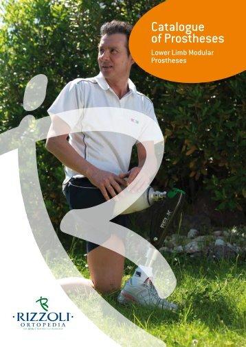 Catalogue of Prostheses (English) - Rizzoli Ortopedia