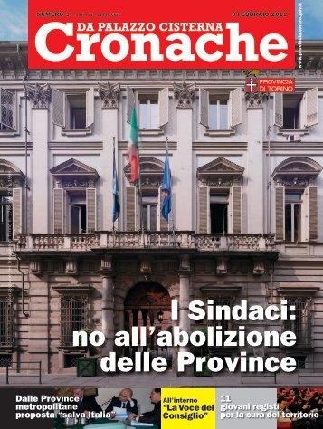 Consiglio - Provincia di Torino