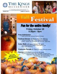 October 2011 newsletter - King of Kings Lutheran Church