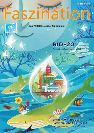 RIO+20 - United Nations Postal Administration - ONU