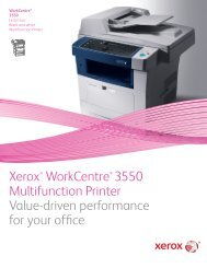WorkCentre 5765/5775/5790 Brochure (PDF) - Xerox