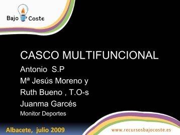 CASCO MULTIFUNCIONAL - CRMF Albacete