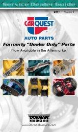 Service Dealer Guide - Dorman Products