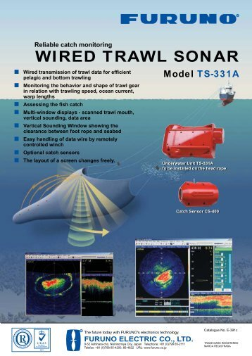 WIRED TRAWL SONAR - Furuno Norge AS
