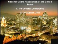 National Guard Association of the United States 133rd General ...