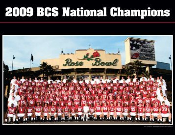 2009 BCS National Champions Roster - Indian River Magazine