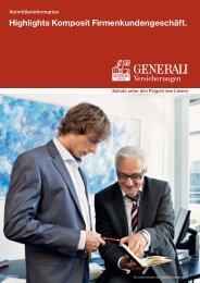 Highlights Komposit Firmenkundengeschäft. - PSS-GR
