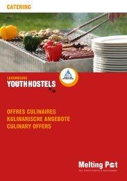 Kulinarische Angebote - Youth Hostels