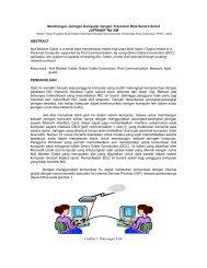 Membangun Jaringan Komputer dengan Transmisi Data Secara Serial