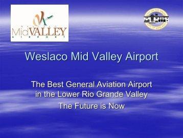Weslaco Mid Valley Airport - City of Weslaco