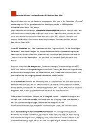 Jahresbericht des Vorsitzenden der SPD Zeuthen über 2007 ...
