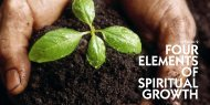 FOUR ELEMENTS OF SPIRITUAL GROWTH - Holy Spirit Interactive