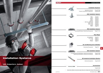 Installation Systems