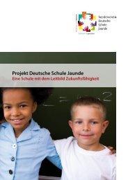 Informationsbroschüre - Projekt Deutsche Schule Jaunde