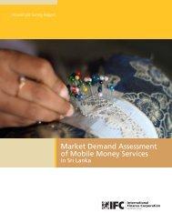 IFC_Mobile Money Services Demand - TRPC