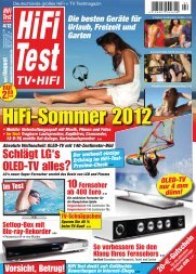 TV•HIFI - PSB Lautsprecher Deutschland