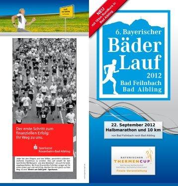 22. September 2012 Halbmarathon und 10 km