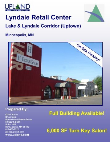 Lyndale Retail Center - Upland Real Estate Group