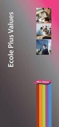 Ecole Plus ValuesEcole Plus Values - L'Etudiant