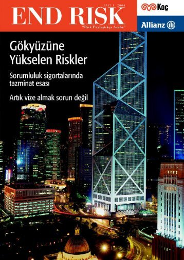 End Risk Dergisi, Sayı 1, (8,79 Mb) - Allianz Emeklilik