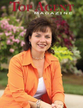 Sharon Evans - Top Agent Magazine