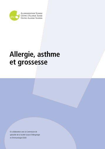Allergie, asthme et grossesse - Allergie- und Hautpraxis