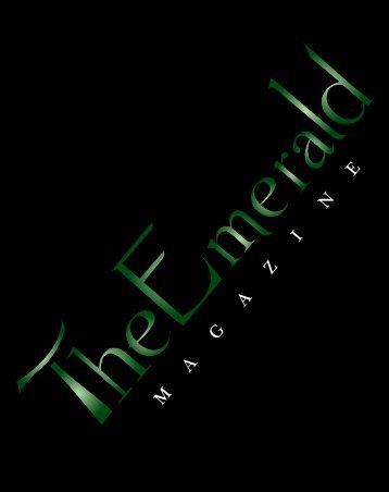 Fall Volume 2012 - The Emerald Magazine