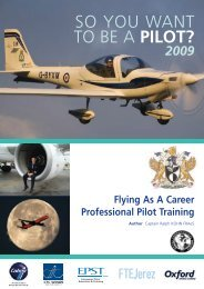 So you want to be a pilot? pdf - The Guild of Air Pilots & Air Navigators