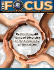 The Focus (3rd Issue.. - College of Engineering - The University of ...