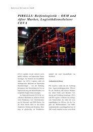 PIRELLI: Reifenlogistik - PSI Logistics GmbH