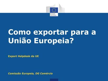 Export Helpdesk»? - Europa