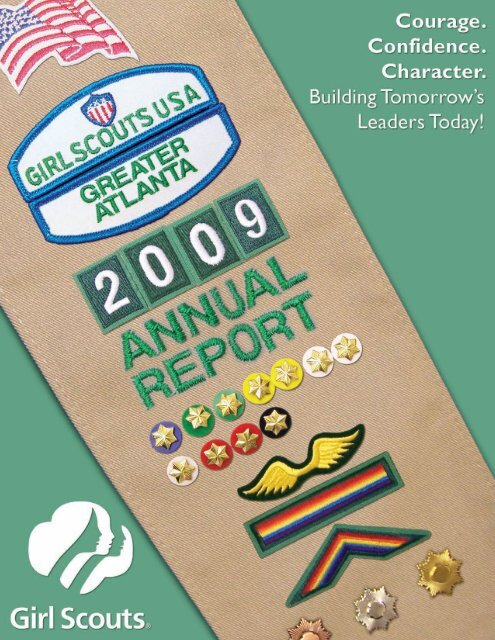 2009 Annual Report - Girl Scouts of Greater Atlanta