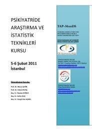 5-6 Şubat 2011 İstanbul Düzenleme Kurulu - Klinik Psikofarmakoloji ...